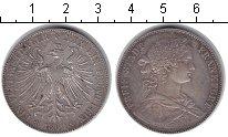 Изображение Монеты Франфуркт 1 талер 1860 Серебро XF