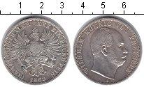 Изображение Монеты Пруссия 1 талер 1869 Серебро XF