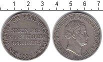 Изображение Монеты Пруссия 1 талер 1833 Серебро XF Фридрих Вильгельм II
