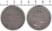 Изображение Монеты Пруссия 1 талер 1833 Серебро XF