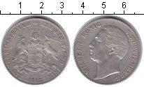 Изображение Монеты Вюртемберг 1 талер 1862 Серебро XF