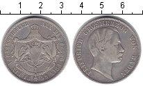 Изображение Монеты Баден 1 талер 1859 Серебро VF Фридрих