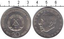 Изображение Монеты ГДР 20 марок 1971 Медно-никель Proof- Генрих Ман