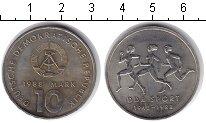 Изображение Монеты ГДР 10 марок 1988 Медно-никель XF 40-летие Восточно-ге