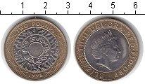 Изображение Монеты Великобритания 2 фунта 1998 Биметалл XF Елизавета II
