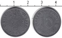 Изображение Монеты Третий Рейх 10 пфеннигов 1941 Цинк XF
