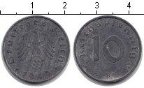 Изображение Монеты Третий Рейх 10 пфеннигов 1943 Цинк XF