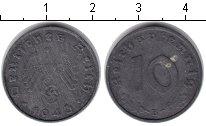 Изображение Монеты Третий Рейх 10 пфеннигов 1943  XF