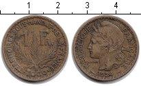Изображение Монеты Того 1 франк 1924 Медь  Французский мандат.