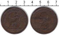 Изображение Монеты Великобритания 1 пенни 1813 Медь VF Токен