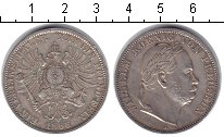 Изображение Монеты Германия 1 талер 1866 Серебро XF