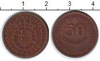 Изображение Монеты Мозамбик 50 сентаво 1957 Медь
