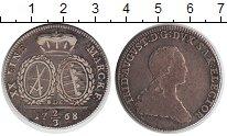 Изображение Монеты Саксония 2/3 талера 1768 Серебро XF