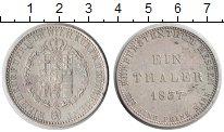 Изображение Монеты Гессен-Кассель 1 талер 1837 Серебро XF