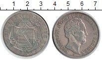 Изображение Монеты Саксония 1 талер 1848 Серебро XF Фридрих Август