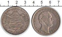 Изображение Монеты Саксония 1 талер 1850 Серебро XF Фридрих Август