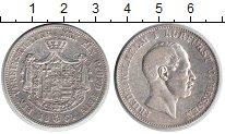 Изображение Монеты Гессен-Кассель 1 талер 1864 Серебро XF Фридрих Вильгельм