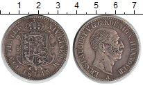 Изображение Монеты Ганновер 1 талер 1845 Серебро XF