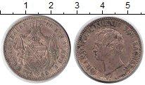 Изображение Монеты Саксония 1 талер 1858 Серебро VF Иоганн V