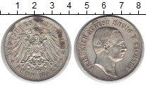 Изображение Монеты Саксония 5 марок 1907 Серебро  Фридрих Август.