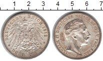 Изображение Монеты Пруссия 3 марки 1912 Серебро XF Вильгельм II.