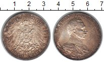 Изображение Монеты Пруссия 3 марки 1913 Серебро
