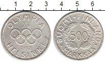 Изображение Монеты Финляндия 500 марок 1952 Серебро XF Олимпиада 1952 в Хел