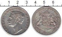 Изображение Монеты Нассау 1 талер 1860 Серебро VF Адольф
