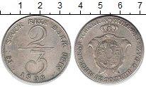 Изображение Монеты Мекленбург-Шверин 2/3 талера 1808 Серебро XF