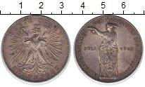 Изображение Монеты Франкфурт 1 талер 1862 Серебро XF