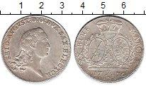 Изображение Монеты Саксония 2/3 талера 1770 Серебро XF