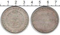 Изображение Монеты Гессен-Кассель 1 талер 1841 Серебро XF