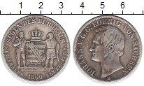 Изображение Монеты Саксония 1 таллер 1860 Серебро VF Иоганн