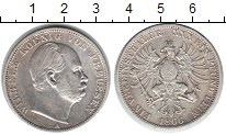 Изображение Монеты Пруссия 1 талер 1866 Серебро XF