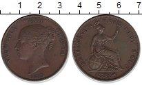 Изображение Монеты Великобритания 1 пенни 1859 Медь XF