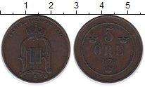 Изображение Монеты Швеция 5 эре 1878 Медь XF