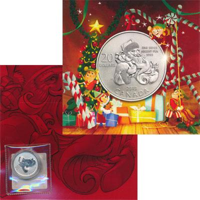 Изображение Подарочные монеты Канада 20 долларов 2013 Серебро Proof Представляем Вашему