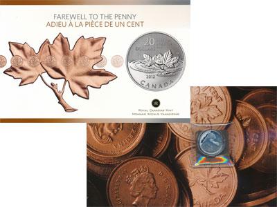 Изображение Подарочные монеты Канада 20 долларов 2012 Серебро Proof Представляем Вашему