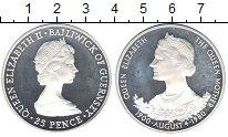 Изображение Монеты Гернси 25 пенсов 1980 Серебро Proof Елизавета II