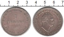 Изображение Монеты Ганновер 1 талер 1835 Серебро XF