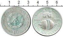 Изображение Монеты ФРГ 10 марок 1977 Серебро XF 375 лет со дня рожде