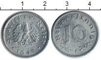 Изображение Монеты Германия 10 пфеннигов 1947 Цинк XF Оккупационная Герман