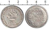 Изображение Монеты Зальцбург 10 крейцеров 1754 Серебро XF