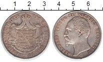 Изображение Монеты Саксен-Альтенбург 1 талер 1866 Серебро XF