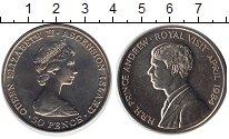 Изображение Монеты Великобритания Аскенсион 50 пенсов 1984 Медно-никель UNC-