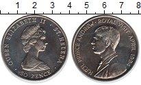 Изображение Монеты Аскенсион 50 пенсов 1984 Медно-никель UNC-