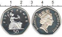 Изображение Монеты Великобритания 50 пенсов 1997 Медно-никель UNC-