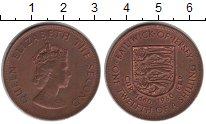 Изображение Монеты Великобритания Остров Джерси 1/12 шиллинга 1960 Медь XF