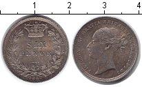 Изображение Монеты Великобритания 6 пенсов 1887 Серебро XF
