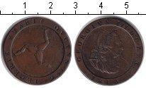 Изображение Монеты Остров Мэн 1 пенни 1813 Медь XF